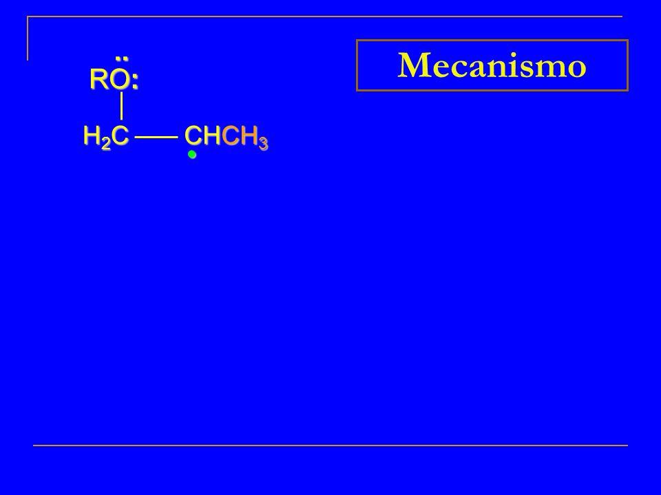 .. RO: Mecanismo H2C CHCH3 • 9