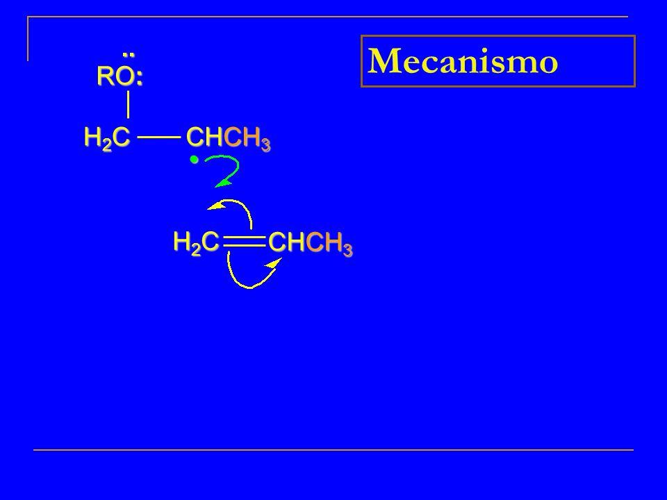 .. RO: Mecanismo H2C CHCH3 • CHCH3 H2C 10