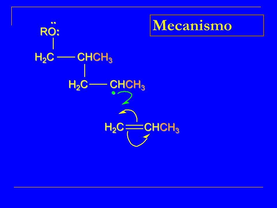 .. RO: Mecanismo H2C CHCH3 H2C CHCH3 CHCH3 H2C • 10