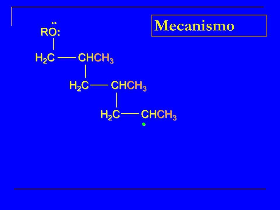 .. RO: Mecanismo H2C CHCH3 H2C CHCH3 H2C CHCH3 • 10