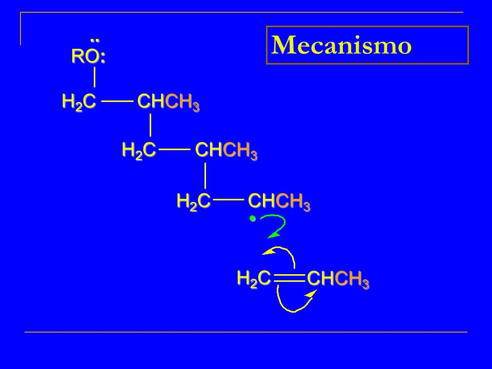 .. RO: Mecanismo H2C CHCH3 H2C CHCH3 H2C CHCH3 CHCH3 H2C • 10