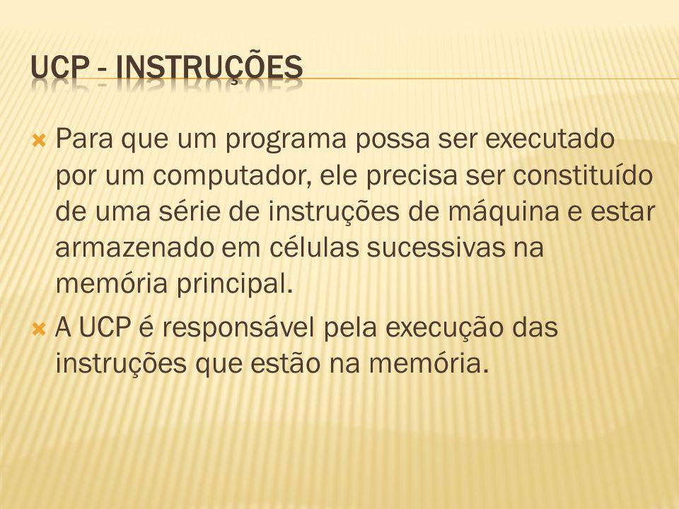 UCP - INStruções