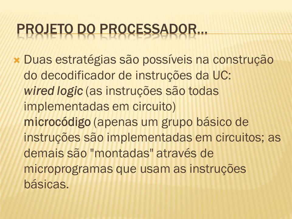 projeto do processador...