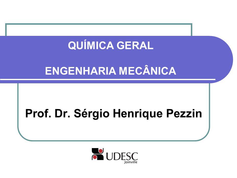 QUÍMICA GERAL ENGENHARIA MECÂNICA