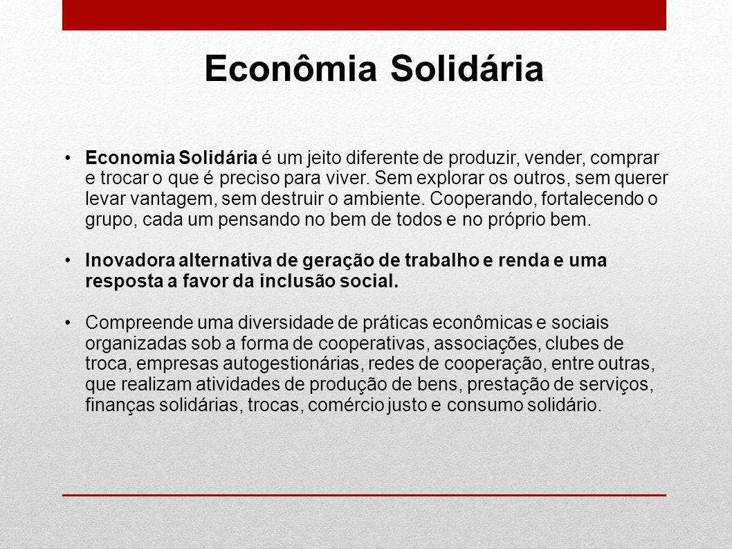Econômia Solidária