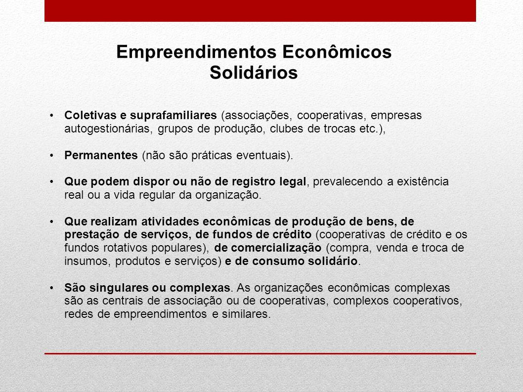 Empreendimentos Econômicos Solidários