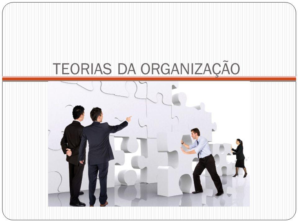 TEORIAS DA ORGANIZAÇÃO