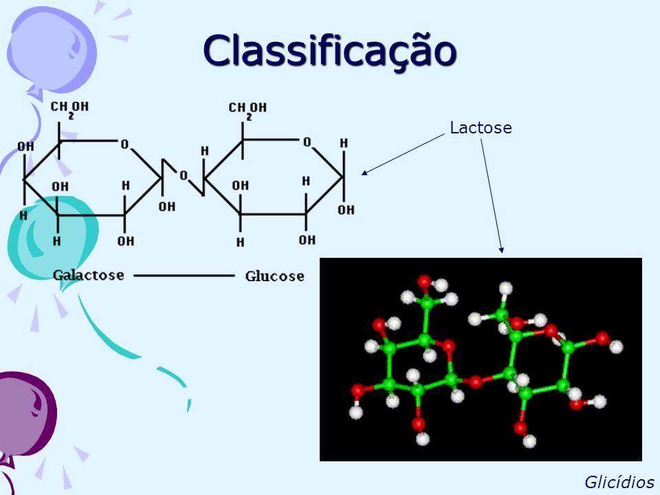 Classificação Lactose Glicídios