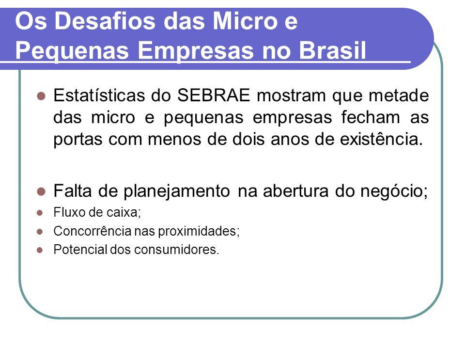 Os Desafios das Micro e Pequenas Empresas no Brasil