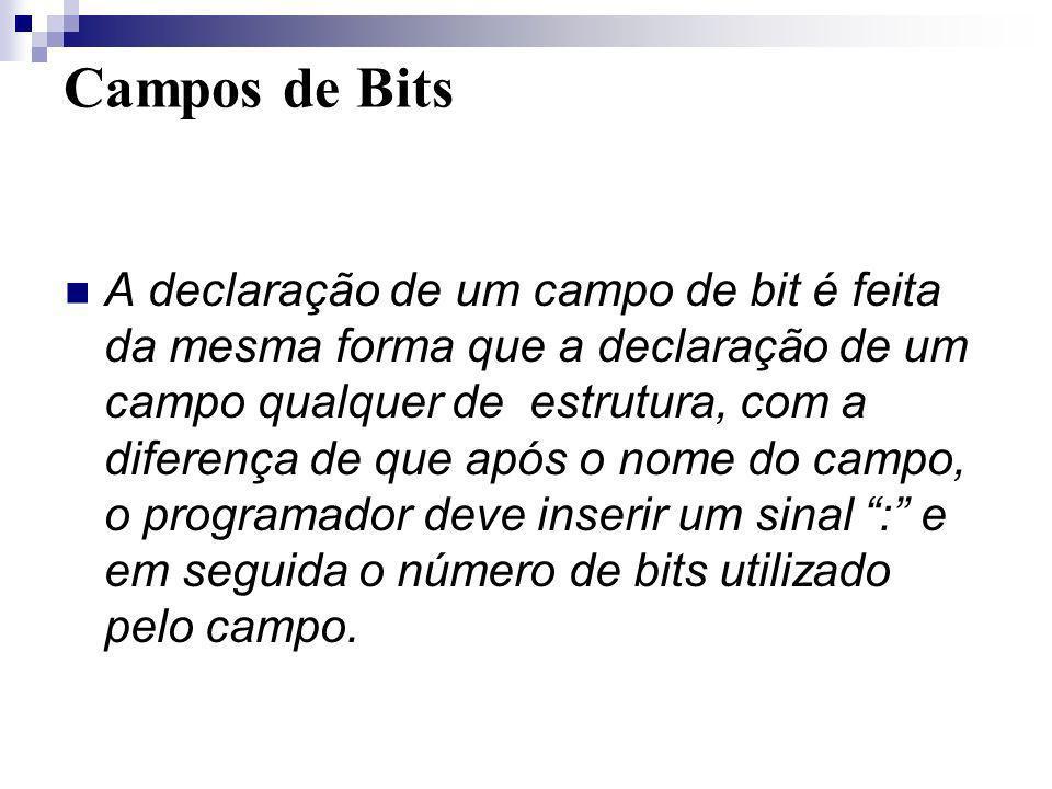 Campos de Bits