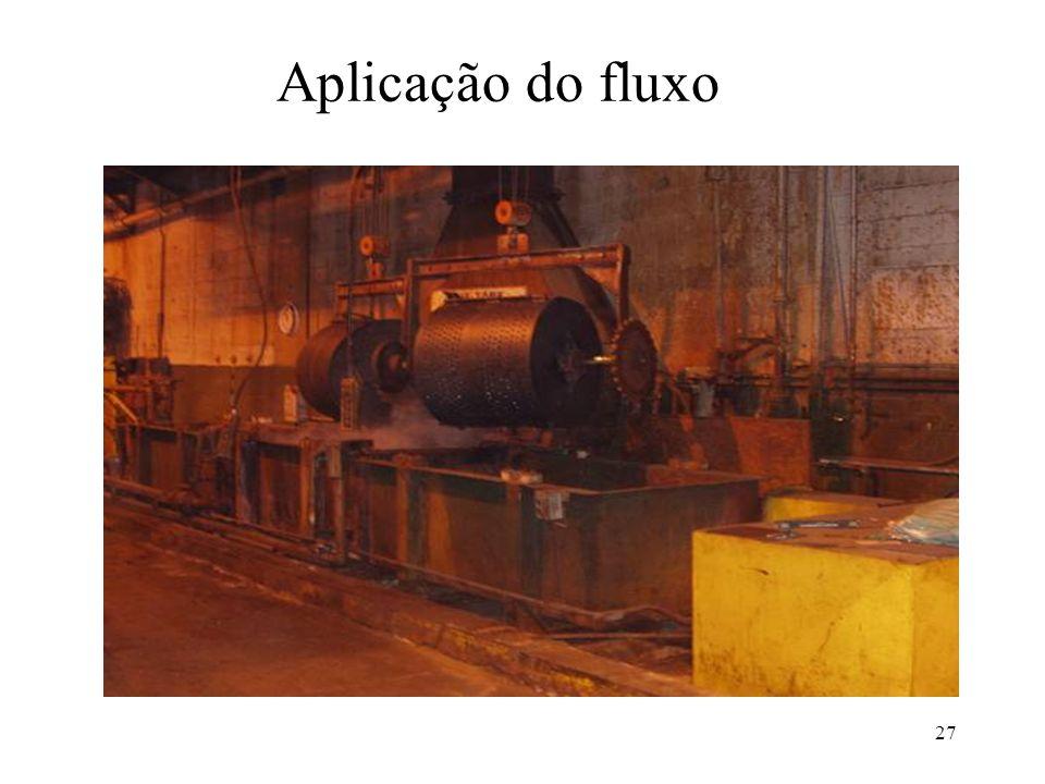 Aplicação do fluxo