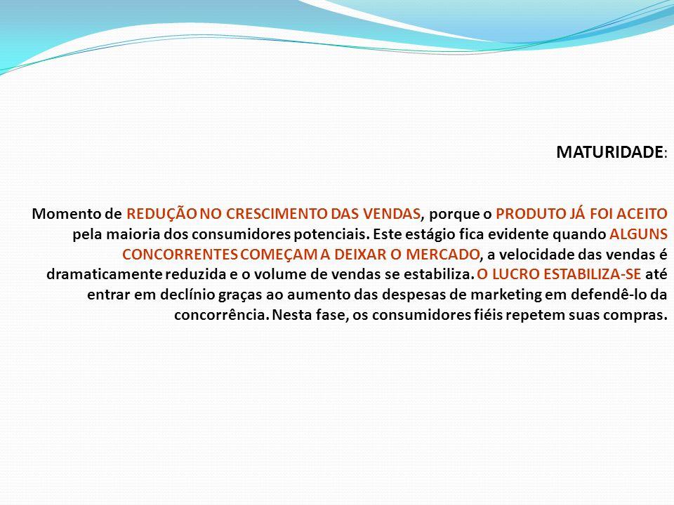 MATURIDADE: