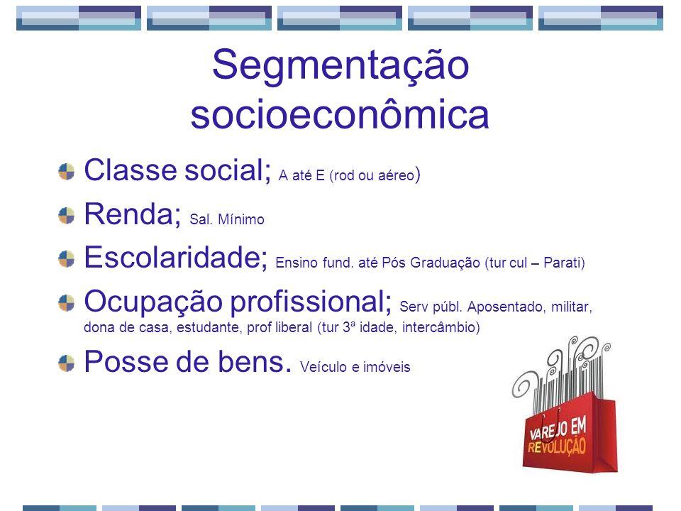 Segmentação socioeconômica