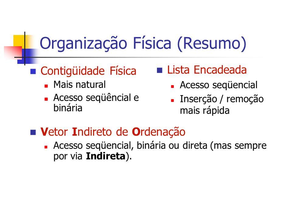 Organização Física (Resumo)