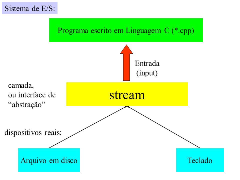 Programa escrito em Linguagem C (*.cpp)