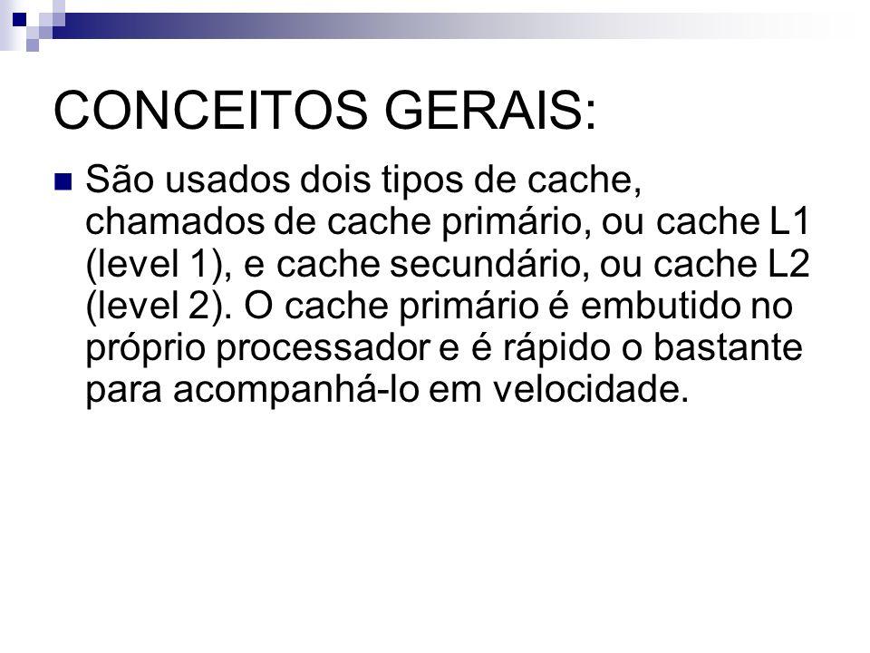 CONCEITOS GERAIS: