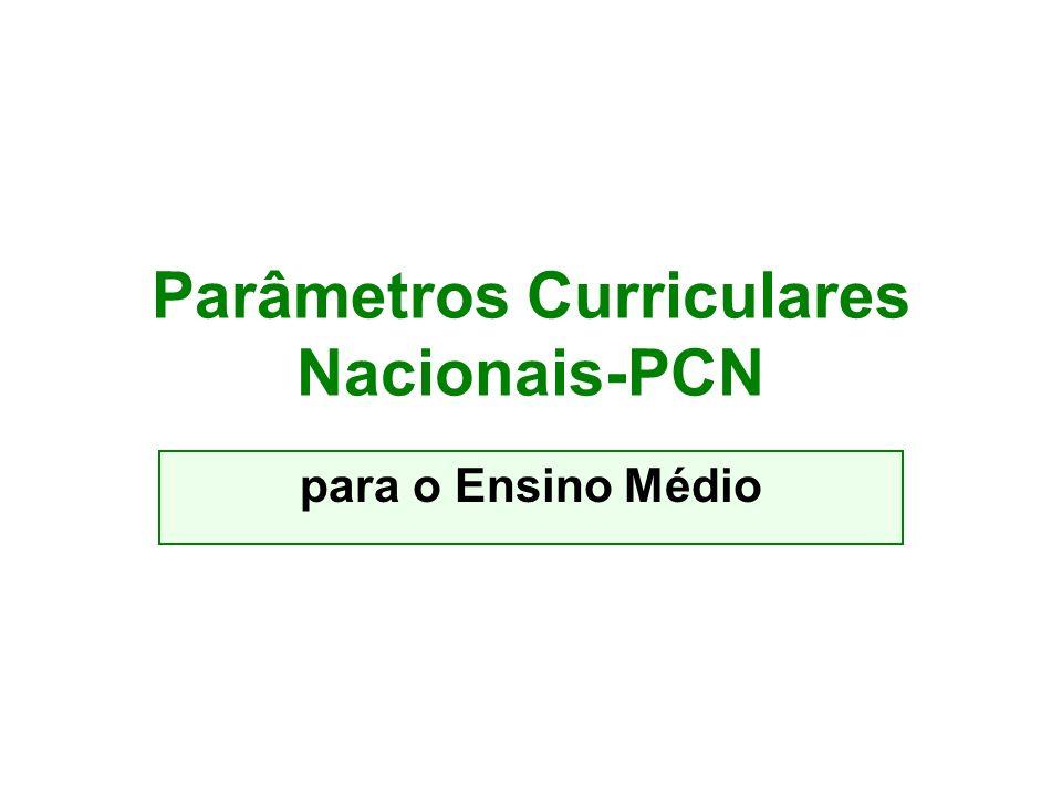 Parâmetros Curriculares Nacionais-PCN
