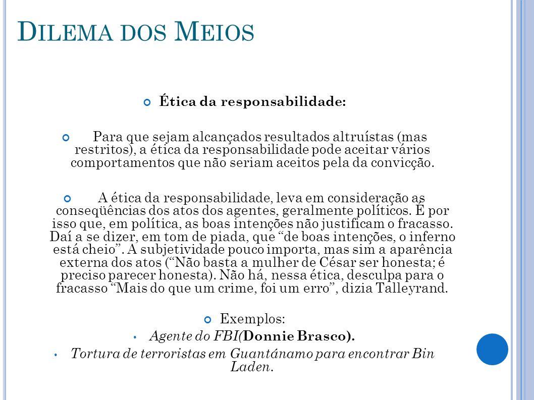Ética da responsabilidade: