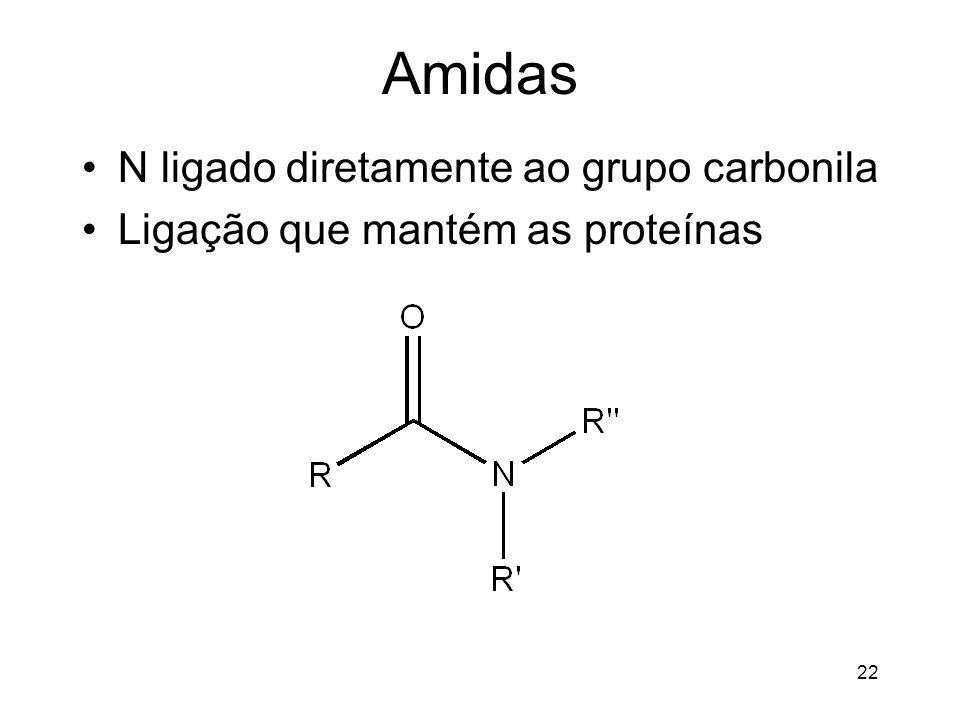 Amidas N ligado diretamente ao grupo carbonila