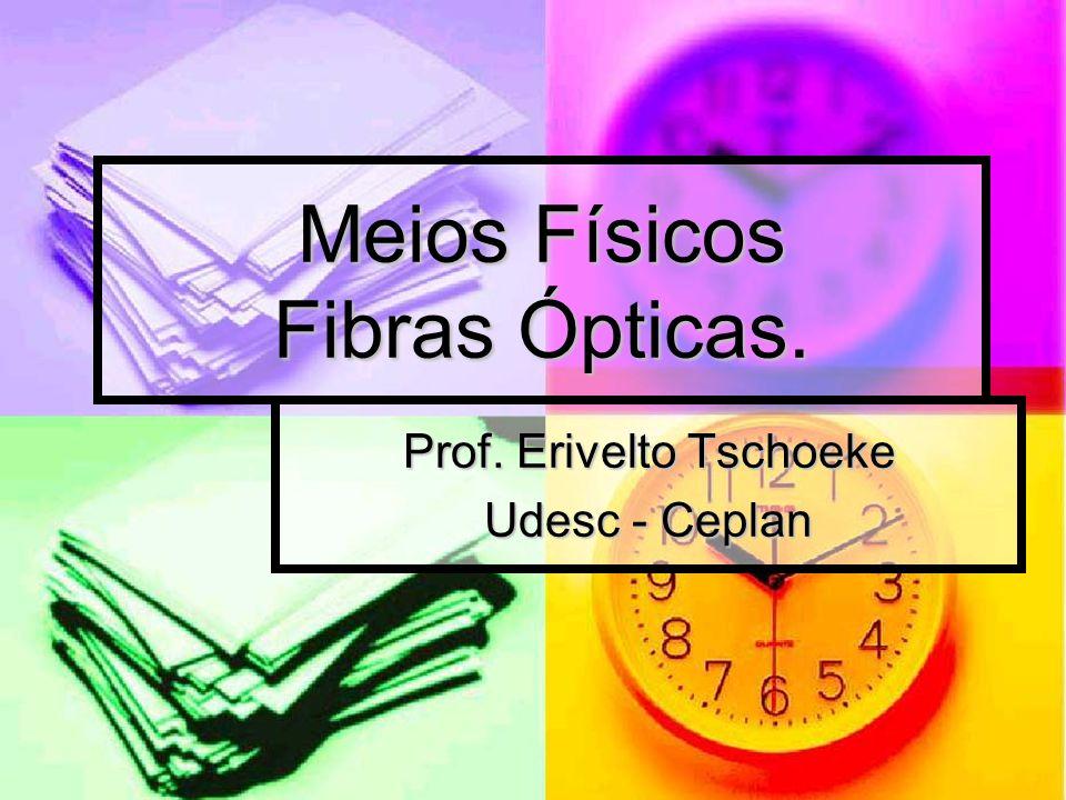 Meios Físicos Fibras Ópticas.