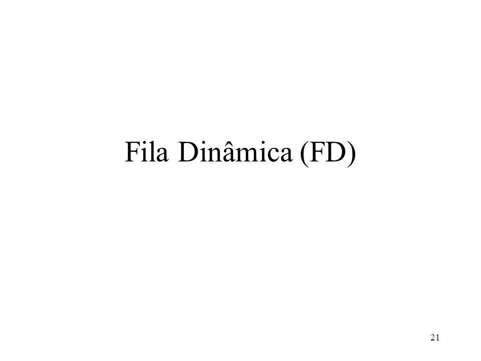 Fila Dinâmica (FD)