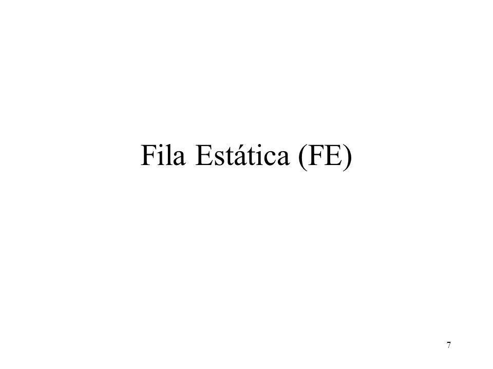 Fila Estática (FE)