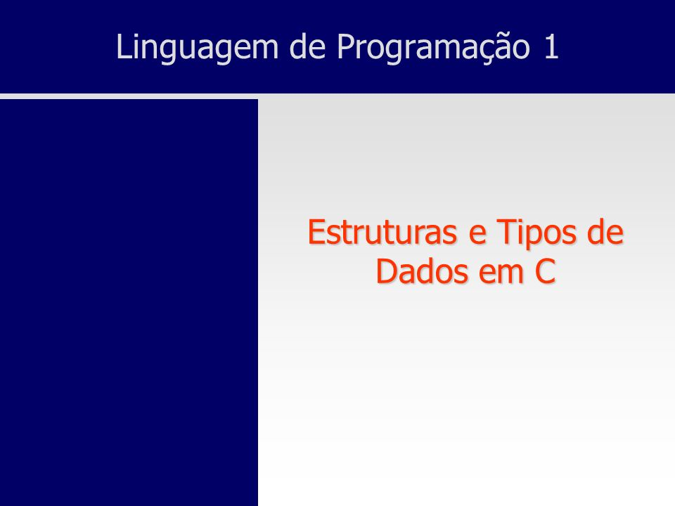 Linguagem de Programação 1