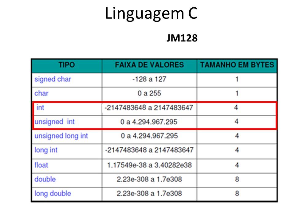 Linguagem C JM128