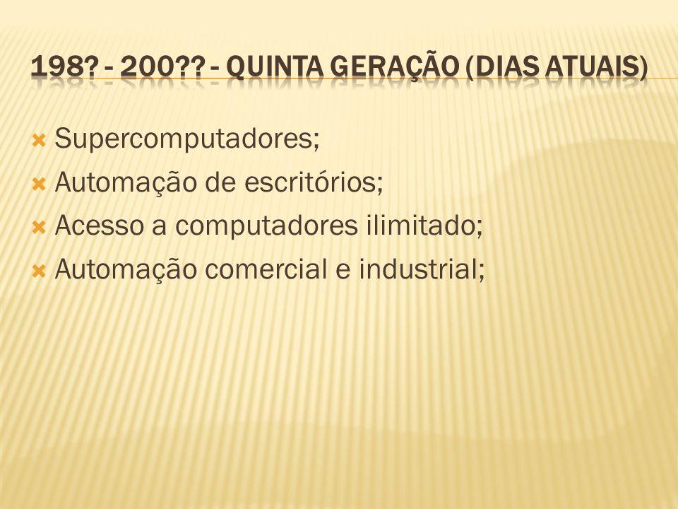 198 - 200 - Quinta geração (dias atuais)