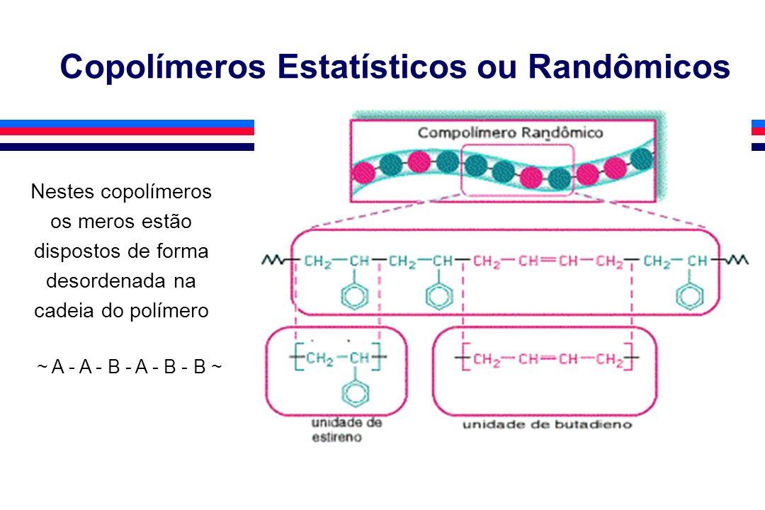 Copolímeros Estatísticos ou Randômicos