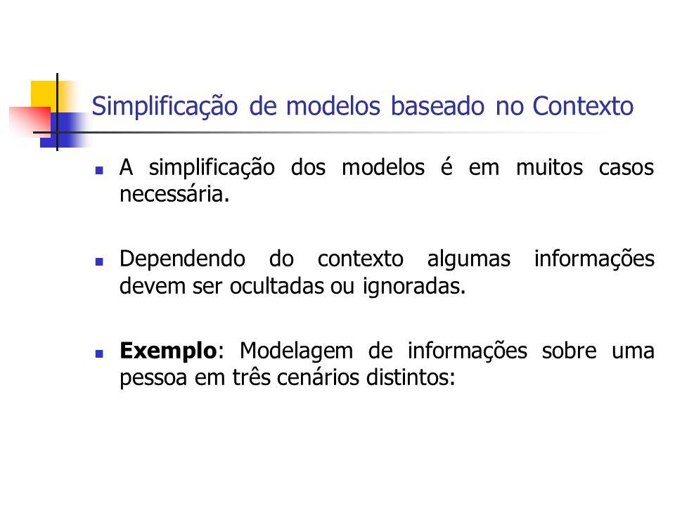 Simplificação de modelos baseado no Contexto