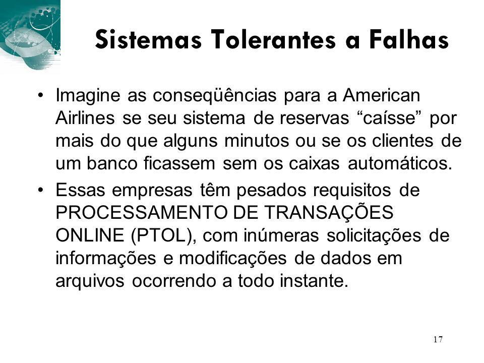 Sistemas Tolerantes a Falhas