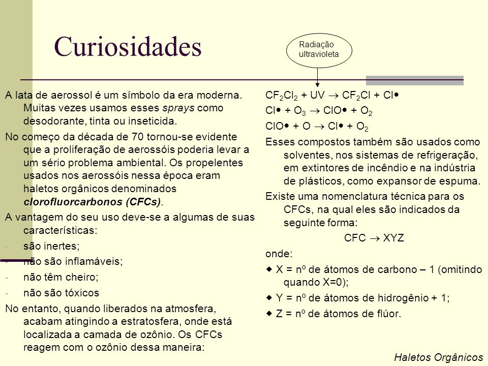 Curiosidades Radiação. ultravioleta.
