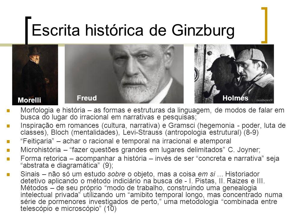 Escrita histórica de Ginzburg
