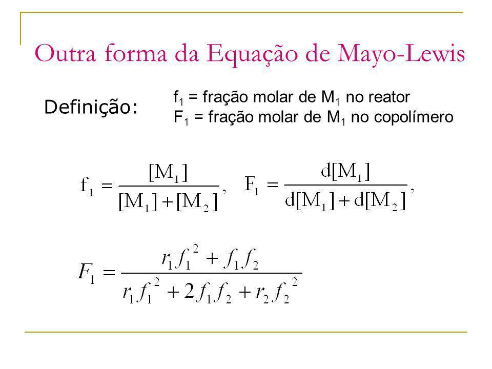 Outra forma da Equação de Mayo-Lewis