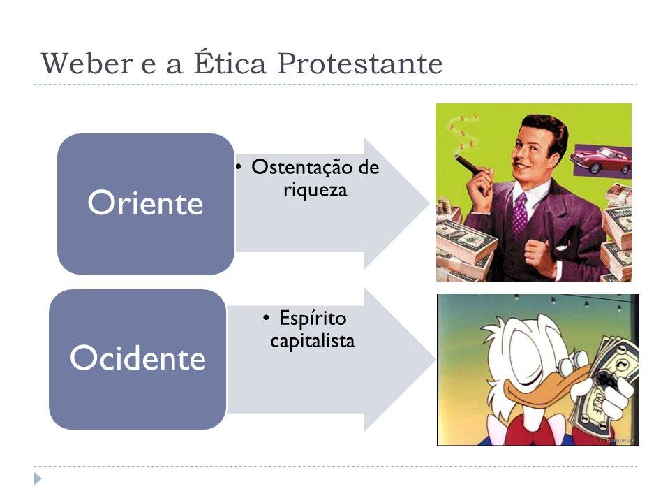 Weber e a Ética Protestante