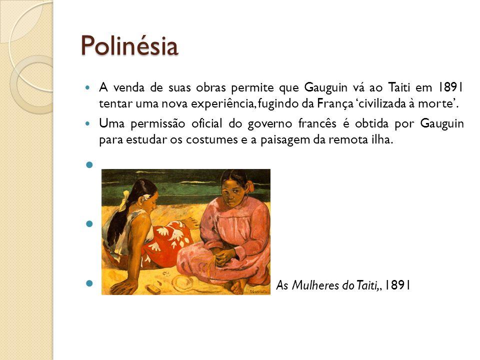 Polinésia As Mulheres do Taiti,, 1891