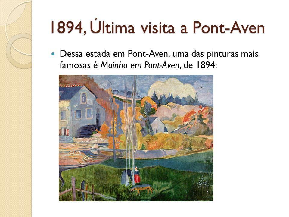1894, Última visita a Pont-Aven