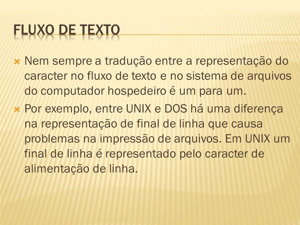 Fluxo de texto