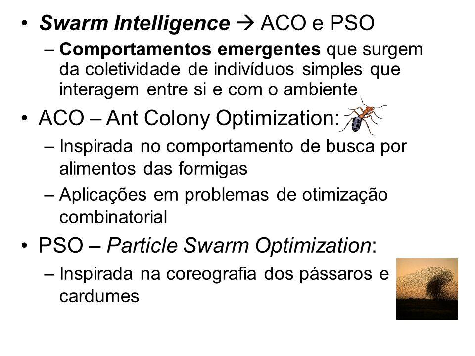 Swarm Intelligence  ACO e PSO