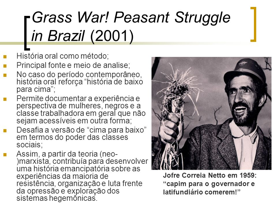 Grass War! Peasant Struggle in Brazil (2001)