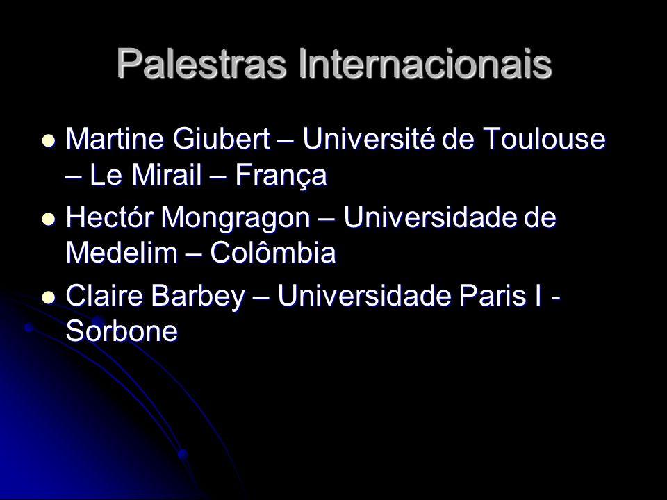 Palestras Internacionais