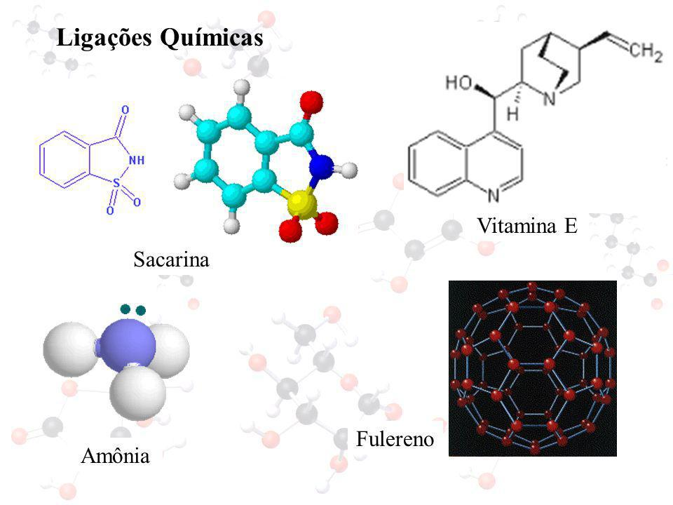 Ligações Químicas Vitamina E Sacarina Fulereno Amônia