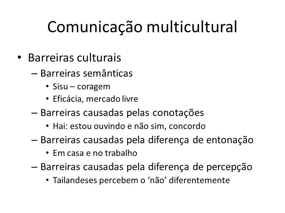 Comunicação multicultural