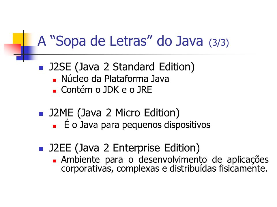 A Sopa de Letras do Java (3/3)