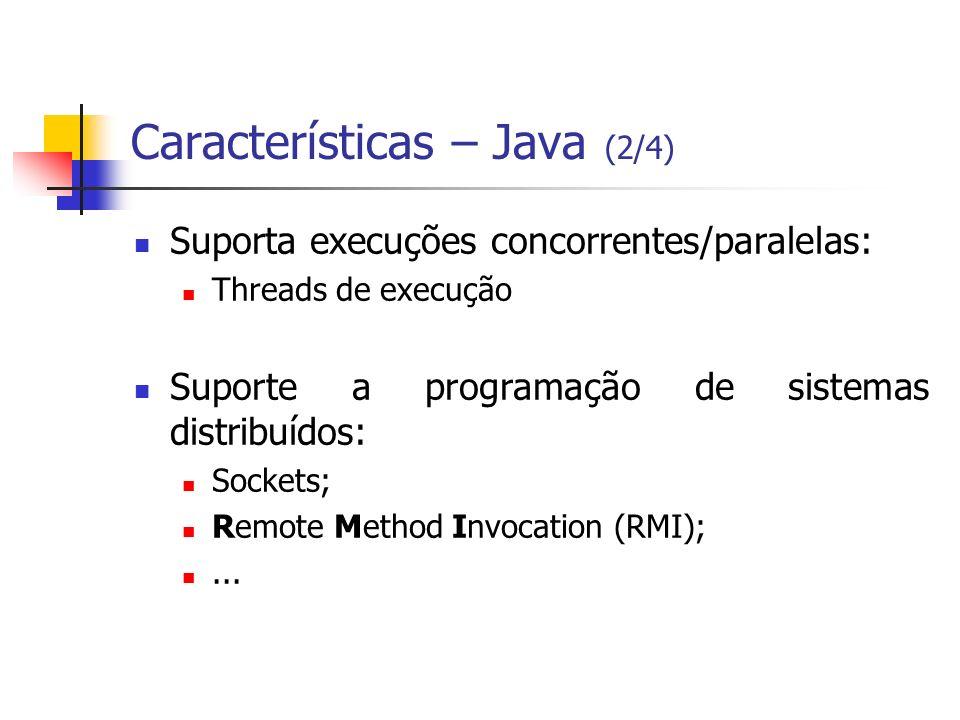 Características – Java (2/4)
