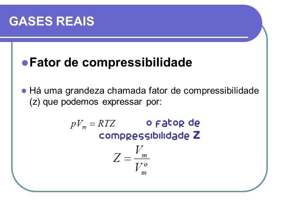 Fator de compressibilidade