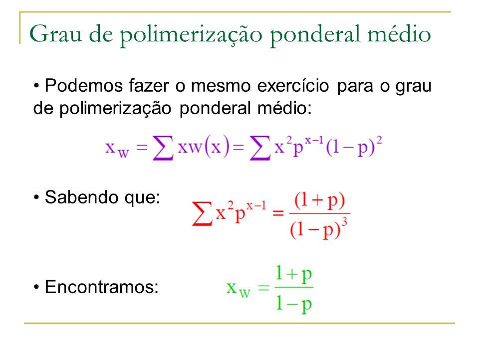 Grau de polimerização ponderal médio