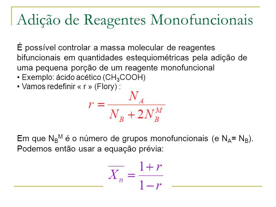 Adição de Reagentes Monofuncionais