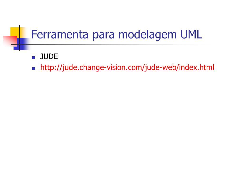 Ferramenta para modelagem UML